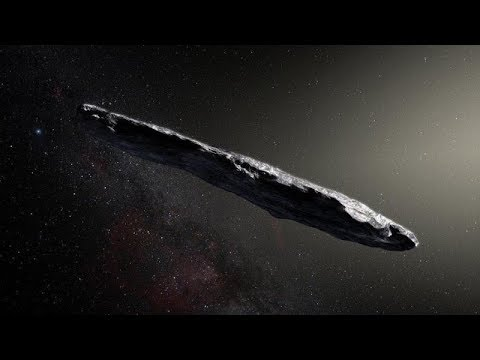 Strange cigar-shaped object enters our solar system!