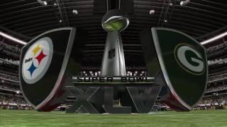Madden NFL 11 Super Bowl XLV Sim