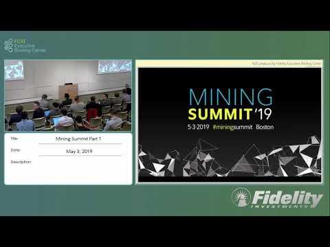 FCAT's Mining Summit (pt 1)