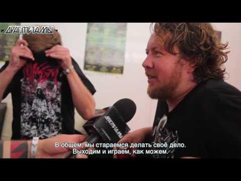 Pig Destroyer interviewed by drugmetal.ru at Hellfest 2013