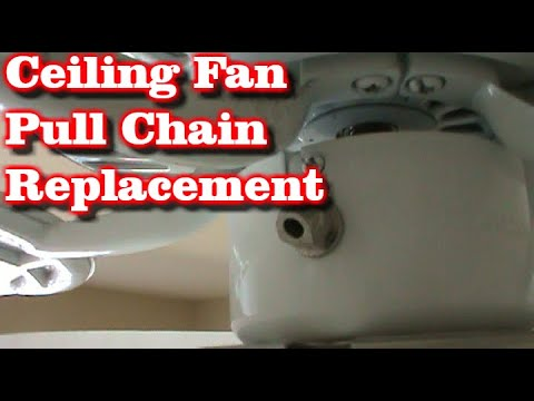 Ceiling Fan 3 Speed Pull Chain Switch Replacement
