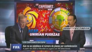 ¿Le convendria a CONCACAF una eliminatoria mundialista conjunta con CONMEBOL? - Los Capitanes