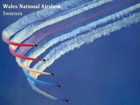 The Wales' National Airshow - Swansea, Gower, Mumbles at Swansea Bay