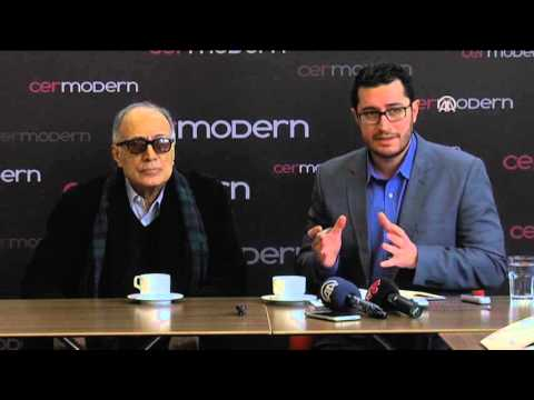 Iranian director Abbas Kiarostami's photo exhibit in Turkey's Ankara