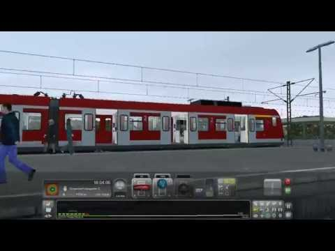 lets play train simulator 2016 in k ln d sseldorf mit der br 423 youtube. Black Bedroom Furniture Sets. Home Design Ideas