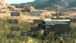 MGSV: Phantom Pain - Parasite Suit Gameplay