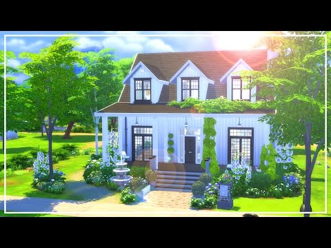 The Sims 4: Speed Build | St.Peter's Modern Farmhouse