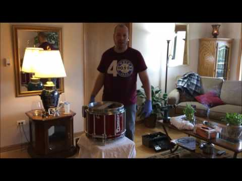 Replacing drum heads and snares