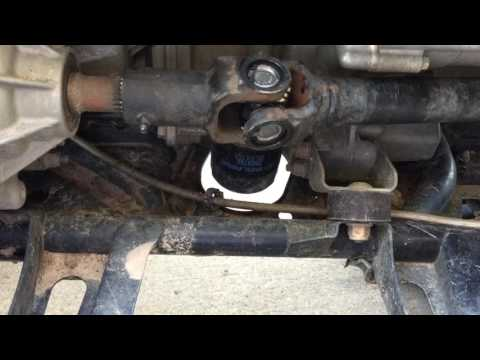 How To Chang U Joints On Polaris sportsman 550 Xp Propshaft/ Drive Shaft