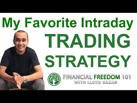 My Favorite Intraday Trading Strategy | Lloyd Bazar