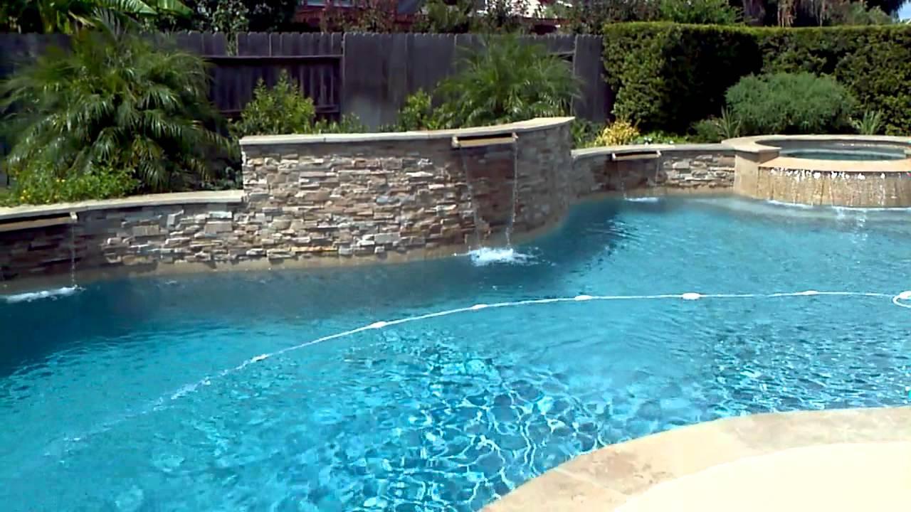 Katy Texas Maddox Custom Pools Watson 7 25 Youtube