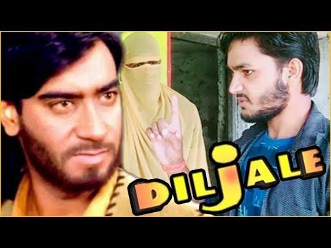 Diljale movie(1996) | Hit dialogue ajay devgan & sonali bendra | Action film diljale