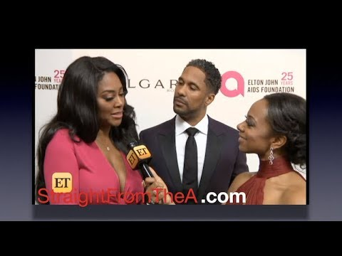 RHOA Kenya Moore & Marc Daly Talk Love & Quickie Marriage During 1st Red Carpet Interview... ❤️