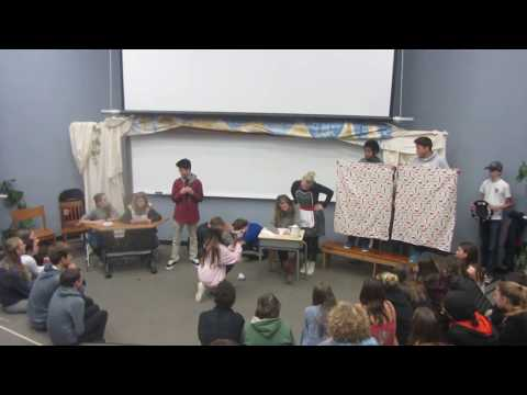 Man Writes Poem by Students at Mill Valley Middle School
