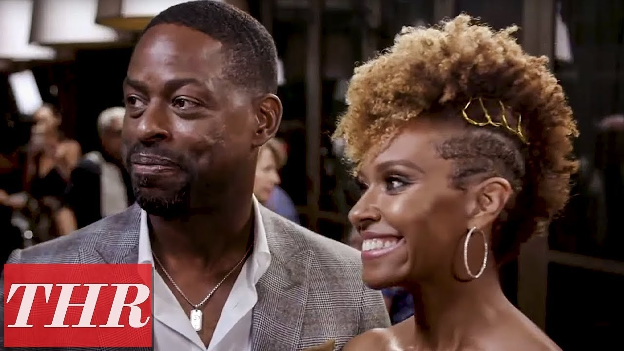 Sterling K. Brown & Ryan Michelle Bathe Talk 'The First Wives Club' | Emmy Noms Night