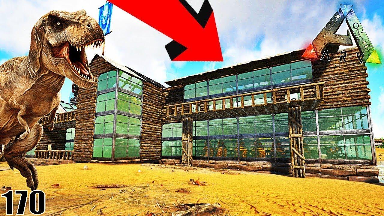 Voici ma nouvelle maison chez les dinosaures ark for Modele maison r 1