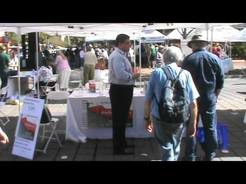 """California's Next Century"" begins in Santa Rosa -  SR Book Fair part 1"