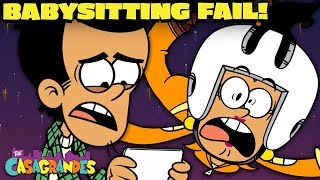 Bobby's Babysitting FAIL! 'Maybe Sitter'   The Casagrandes