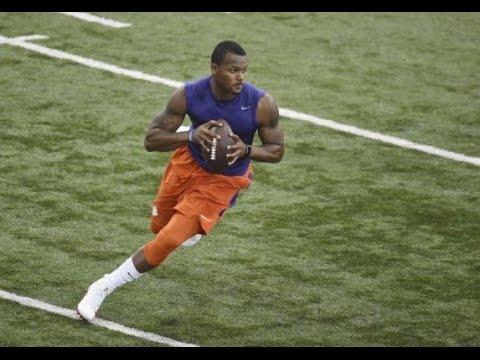 Deshaun Watson Clemson Pro Day Highlights + Interview (16/03/2017) - 2017 NFL Highlights HD