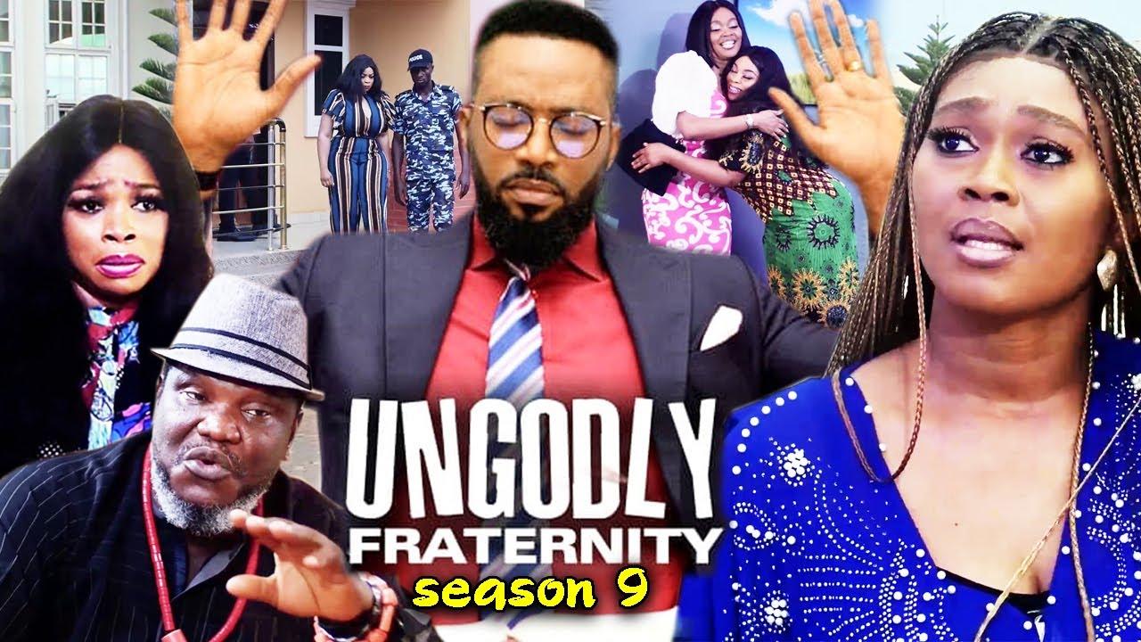 Download UNGODLY FRATERNITY SEASON 9 -(Trending New Movie)Fredrick Leonard 2021 Latest Nigerian Movie Full HD