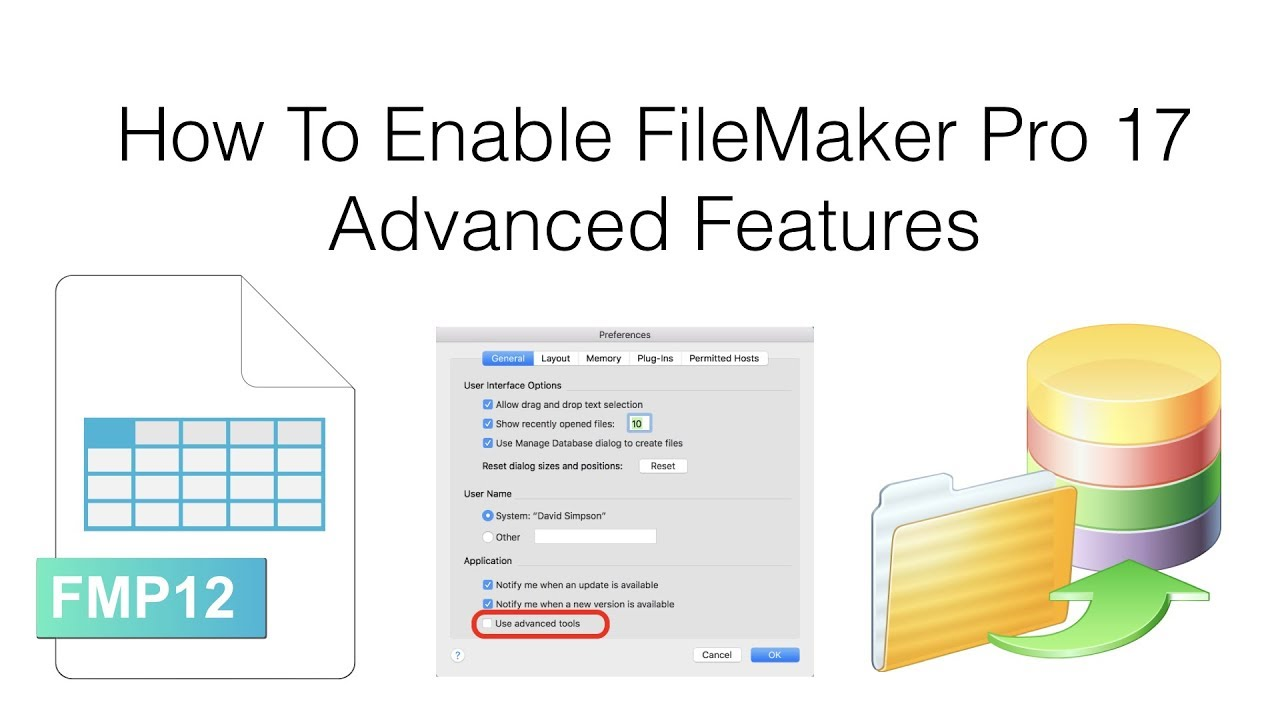 How To Enable FileMaker Pro 17 Advanced Features [macOS & Windows]