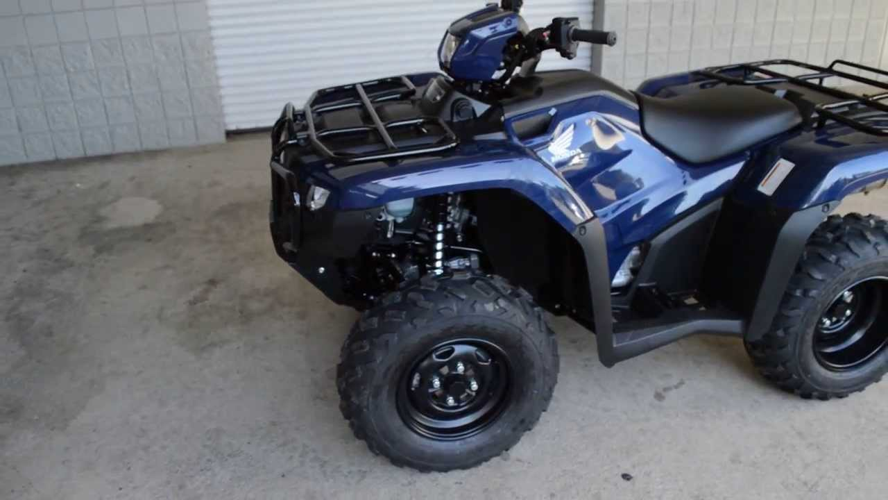 2014 TRX500FE2E Foreman 500 4x4 ATV SALE / Honda Of Chattanooga TN GA AL  ATV Dealer   YouTube
