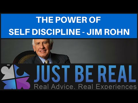 The Power Of Self Discipline - Jim Rohn