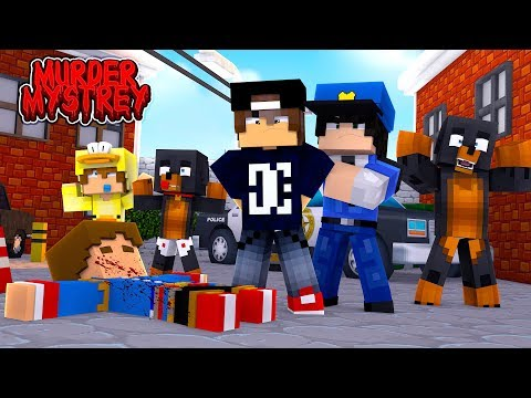 Minecraft Murder Mystery - WHO KILLED LITTLE DONNY?! |