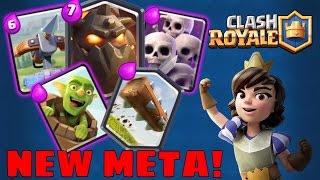 Clash Royale NEW META DECKS & STRATEGY