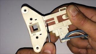 Desbloquear manualmente puerta lavadora, blocapuerta [How to unlock the washer door manually].