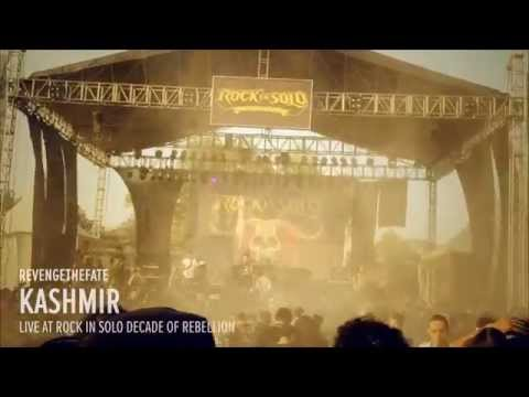 REVENGE THE FATE - KASHMIR (Live at RockinSolo Decade of Rebellion)