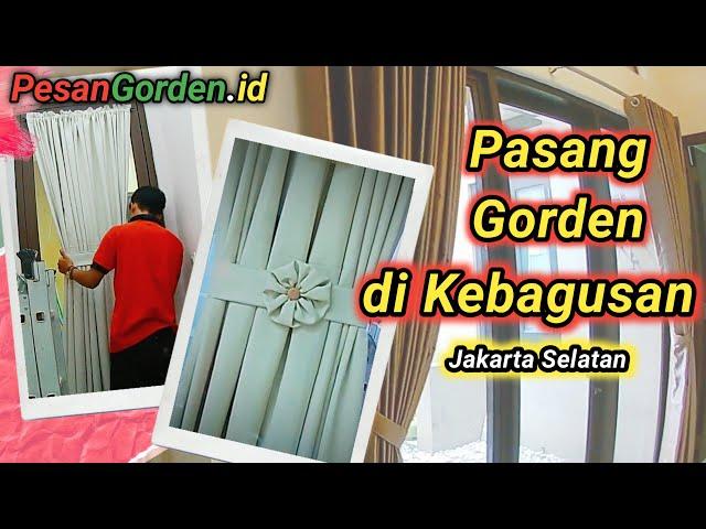 Gorden Polos | Pasang Gorden Di Kebagusan 082310989451 @Gudang Gorden #gorden