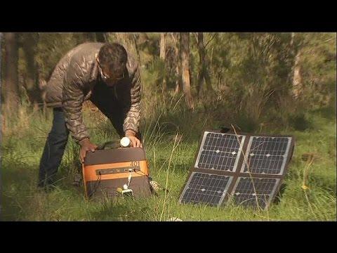 Energie : un kit solaire portable - hi-tech