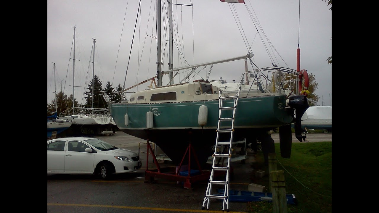 Episode 1: Part Two, HOW TO BUY AN OLD FIBERGLASS BOAT