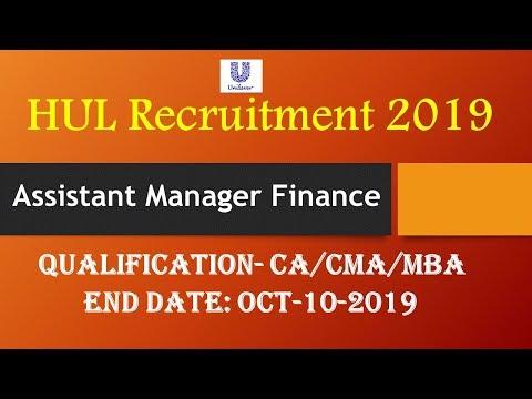 hul-recruitment-2019-i-assistant-manager-finance-i-ca/cma-qualified