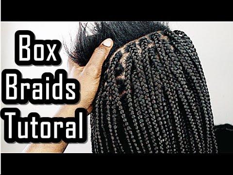 Box Braids Tutorial FOR BEGINNERS FRIENDLY YouTube