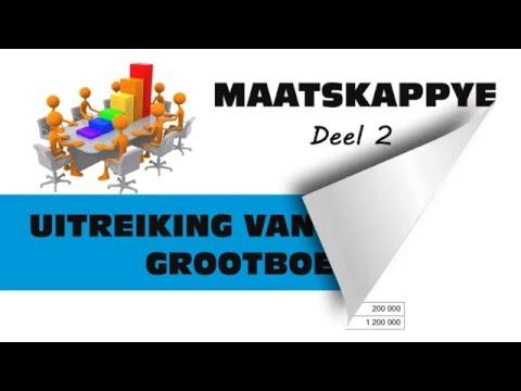 MAATSKAPPYE 2 - UITREIKING VAN AANDELE GROOTBOEK