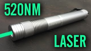 Laserlands Green 520nm 5mw Laser Pointer Review