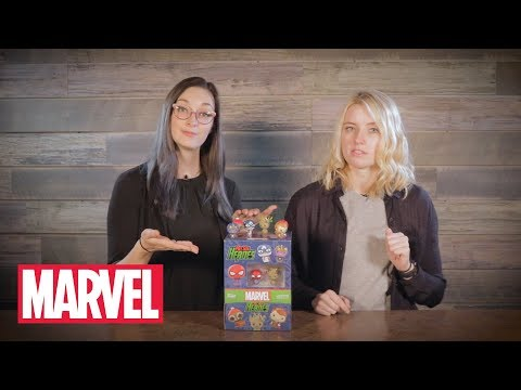 Marvel Holiday Pint Size Heroes Unboxing