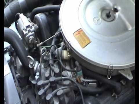 1991 Mercedes-Benz 420 SEL Breakdown (Won\'t Start) - YouTube
