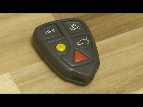 Volvo Key Fob Battery Replacement - EASY DIY