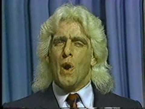 Ric Flair doesn't like Bob Armstrong