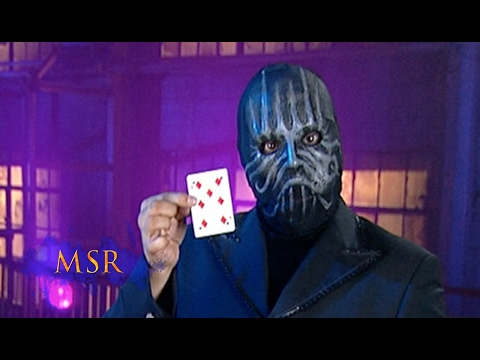 HOLE-Y CARD TRICK, MASKED MAN! - YouTube
