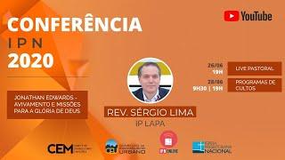 CULTOS DOMÉSTICOS IPNONLINE (Hc 3:17-19 - Rev. Sérgio Lima) - 28/06/2020 (noite)