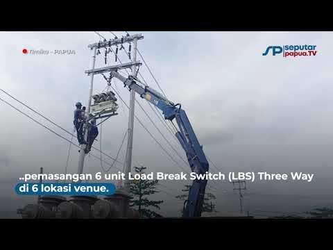 Jelang PON XX Papua, Infrastruktur Kelistrikan di Mimika Rampung 100 Persen