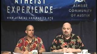 The Atheist Experience #444 for April 16, 2006 with Matt Dillahunty...