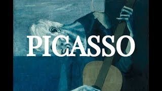 Picasso: 1894-1932 Chronological Slideshow of Pablo Picasso Earlier Paintings in 4K UHD
