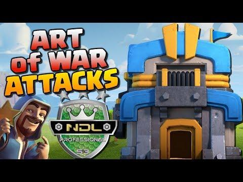 ART of WAR vs KRONOS - NDL Pro Semi Final | TH12, TH11 & TH10 Attack Strategy | Clash of Clans