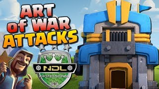 ART of WAR vs KRONOS - NDL Pro Semi Final | TH12, TH11 & TH10 Attack Strategy | Clash of Clans