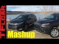 2017 Honda CR-V vs Jeep Cherokee Mashup Review: And The Best Compact Crossover is...